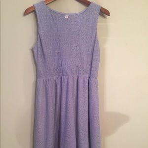 Xhilaration NWOT Lavender Lace sleeveless dress